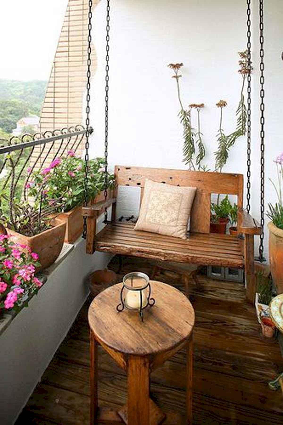 80 Small Apartment Balcony Decor Ideas And Makeover (6)