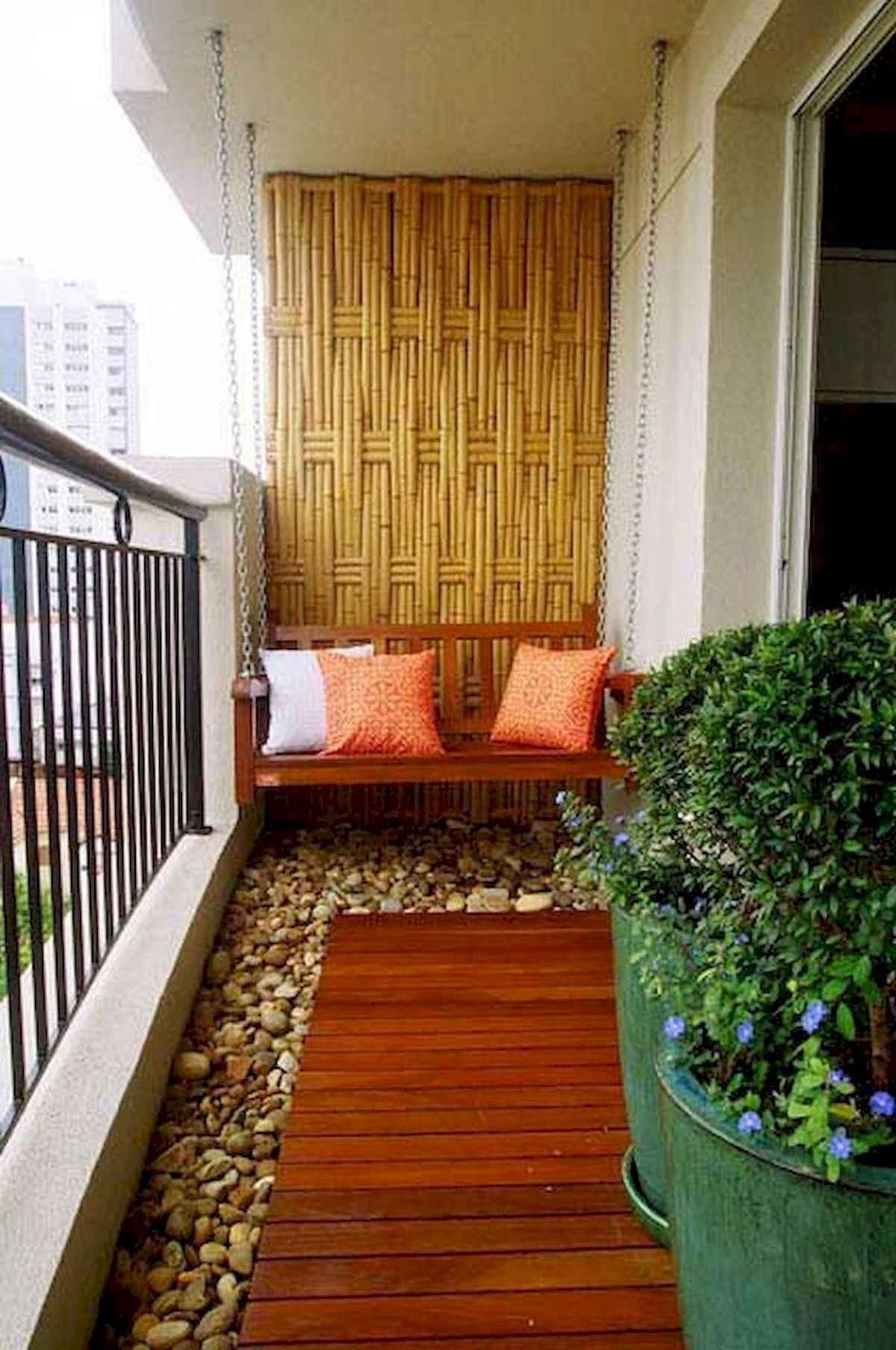 80 Small Apartment Balcony Decor Ideas And Makeover (62)