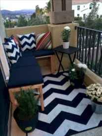 80 Small Apartment Balcony Decor Ideas And Makeover (72)