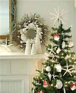 40 Creative Coastal Christmas Decor Ideas And Makeover (40)