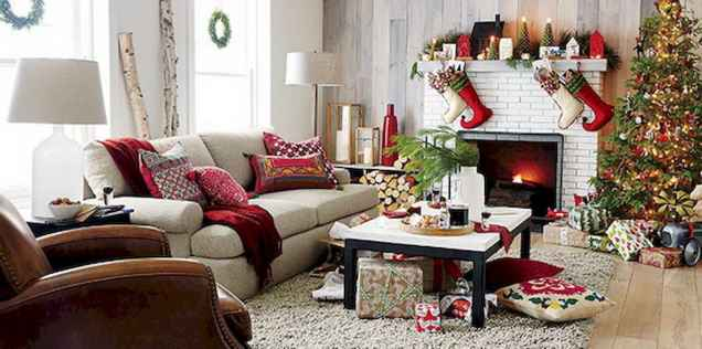 40 Creative and Easy Christmas Decorations for Your Apartment Ideas (15)