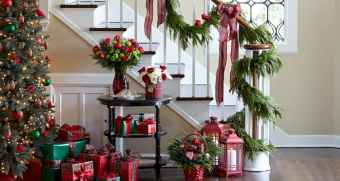 40 Creative and Easy Christmas Decorations for Your Apartment Ideas (38)