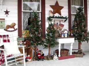 50 Creative Christmas Front Porch Decor Ideas And Makeover (13)