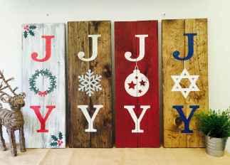 50 Creative Christmas Front Porch Decor Ideas And Makeover (14)