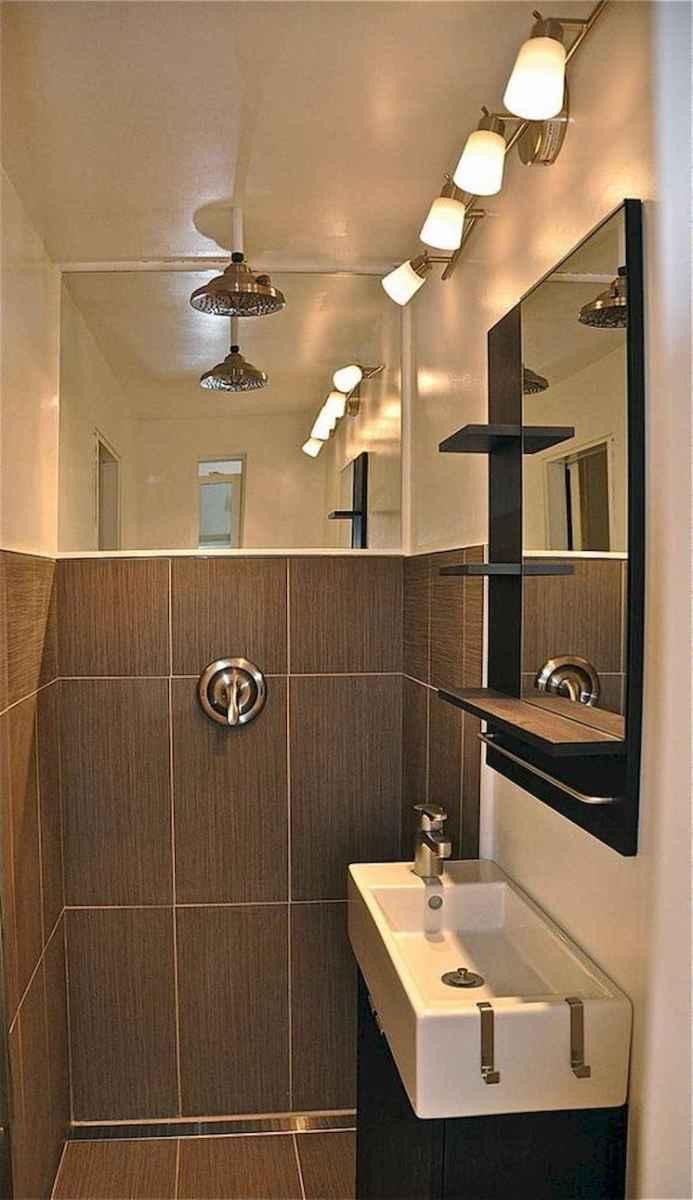 30 Genius Tiny House Bathroom Shower Design Ideas And Remodel (10)