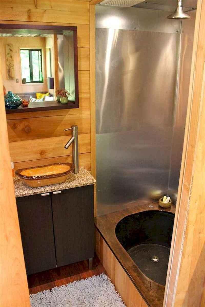 30 Genius Tiny House Bathroom Shower Design Ideas And Remodel (15)
