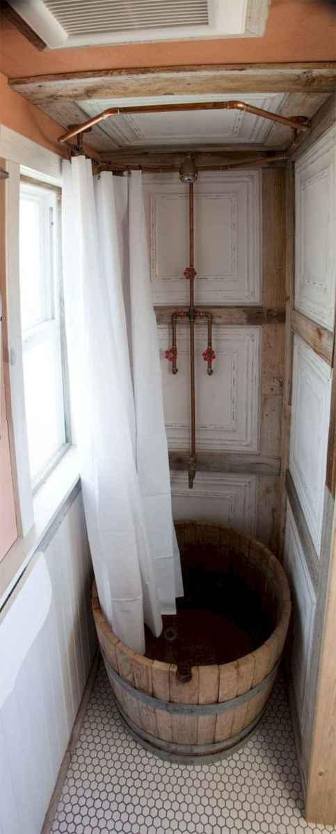 30 Genius Tiny House Bathroom Shower Design Ideas And Remodel (18)