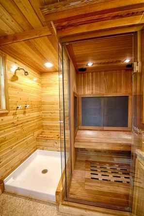 30 Genius Tiny House Bathroom Shower Design Ideas And Remodel (27)