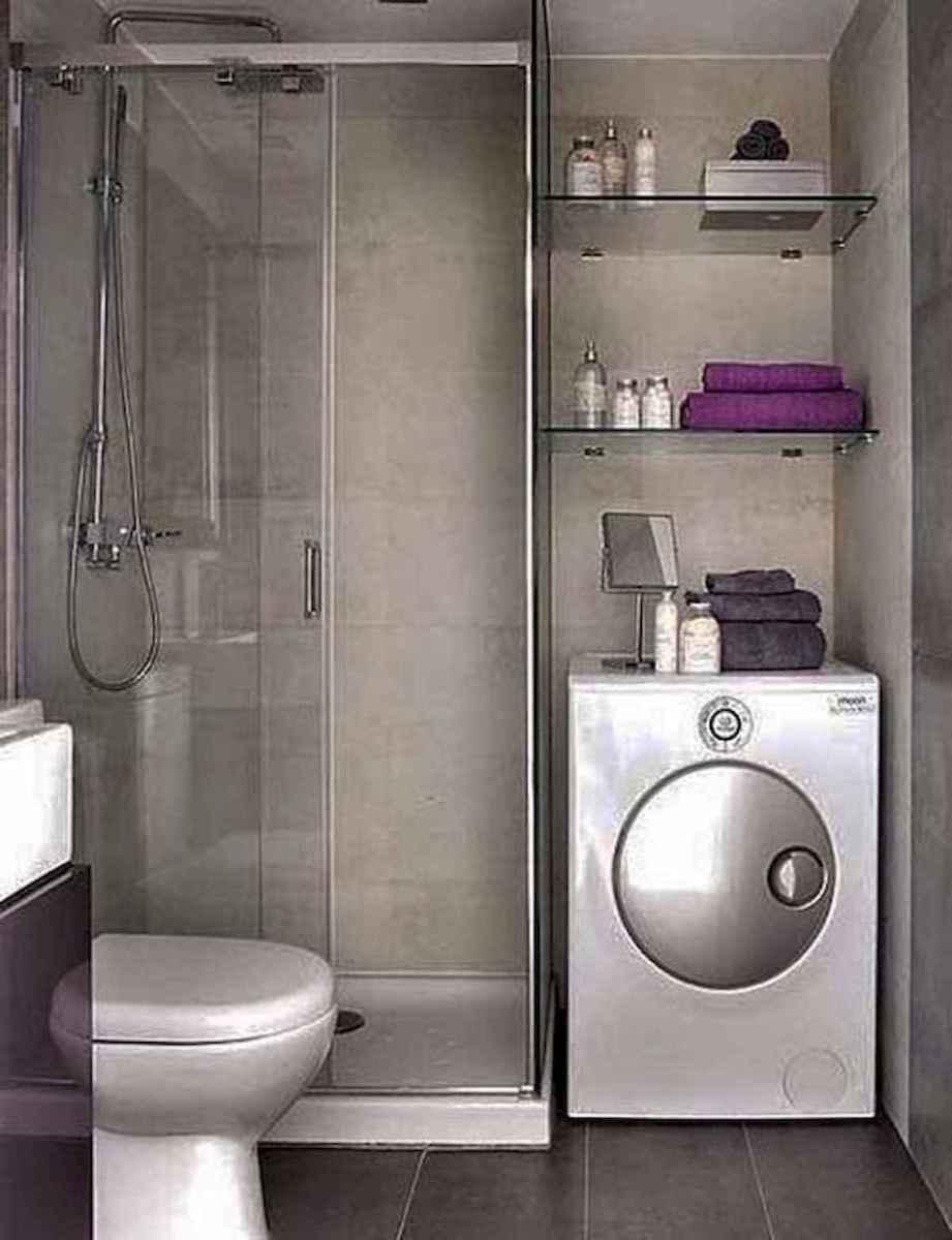 30 Genius Tiny House Bathroom Shower Design Ideas And Remodel (5)