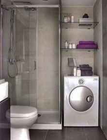 30 Genius Tiny House Bathroom Shower Design Ideas And Remodel (5)