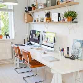55 Brilliant Workspace Desk Design Ideas On A Budget (12)