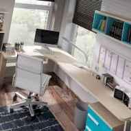 55 Brilliant Workspace Desk Design Ideas On A Budget (17)