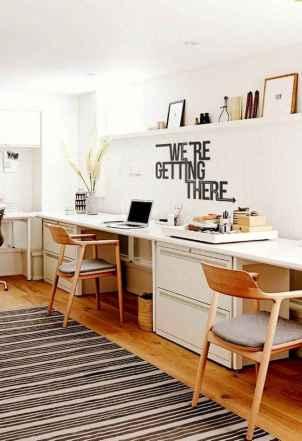 55 Brilliant Workspace Desk Design Ideas On A Budget (48)