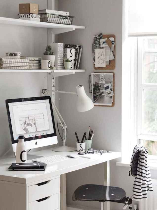 55 Brilliant Workspace Desk Design Ideas On A Budget (55)