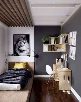 60 Small Apartment Bedroom Decor Ideas On A Budget (42)