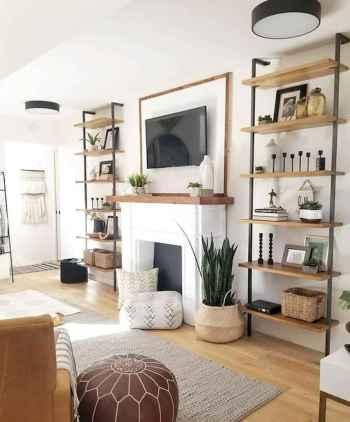 70 Modern Farmhouse Living Room Decor Ideas And Makeover (14)