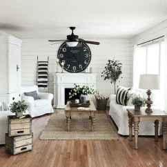 70 Modern Farmhouse Living Room Decor Ideas And Makeover (39)