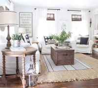 70 Modern Farmhouse Living Room Decor Ideas And Makeover (4)
