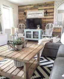 70 Modern Farmhouse Living Room Decor Ideas And Makeover (46)