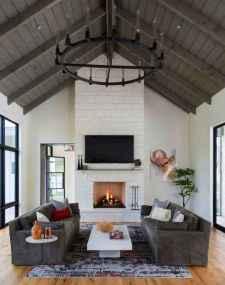 70 Modern Farmhouse Living Room Decor Ideas And Makeover (60)