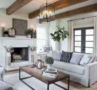 70 Modern Farmhouse Living Room Decor Ideas And Makeover (61)