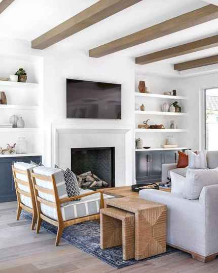 80 Best Furniture For Modern Farmhouse Living Room Decor Ideas (26)