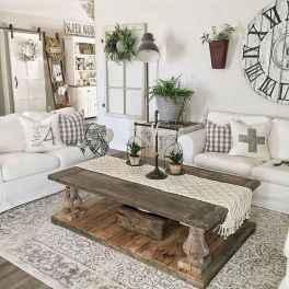 80 Best Furniture For Modern Farmhouse Living Room Decor Ideas (51)