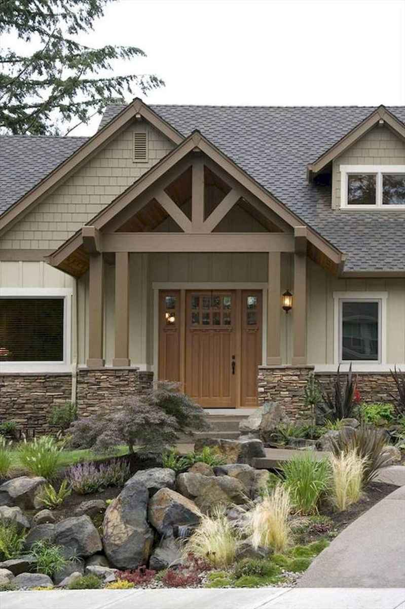 90 Simple and Beautiful Front Yard Landscaping Ideas on A Budget (18)