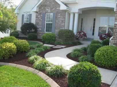 90 Simple and Beautiful Front Yard Landscaping Ideas on A Budget (49)