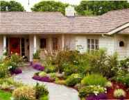90 Simple and Beautiful Front Yard Landscaping Ideas on A Budget (59)