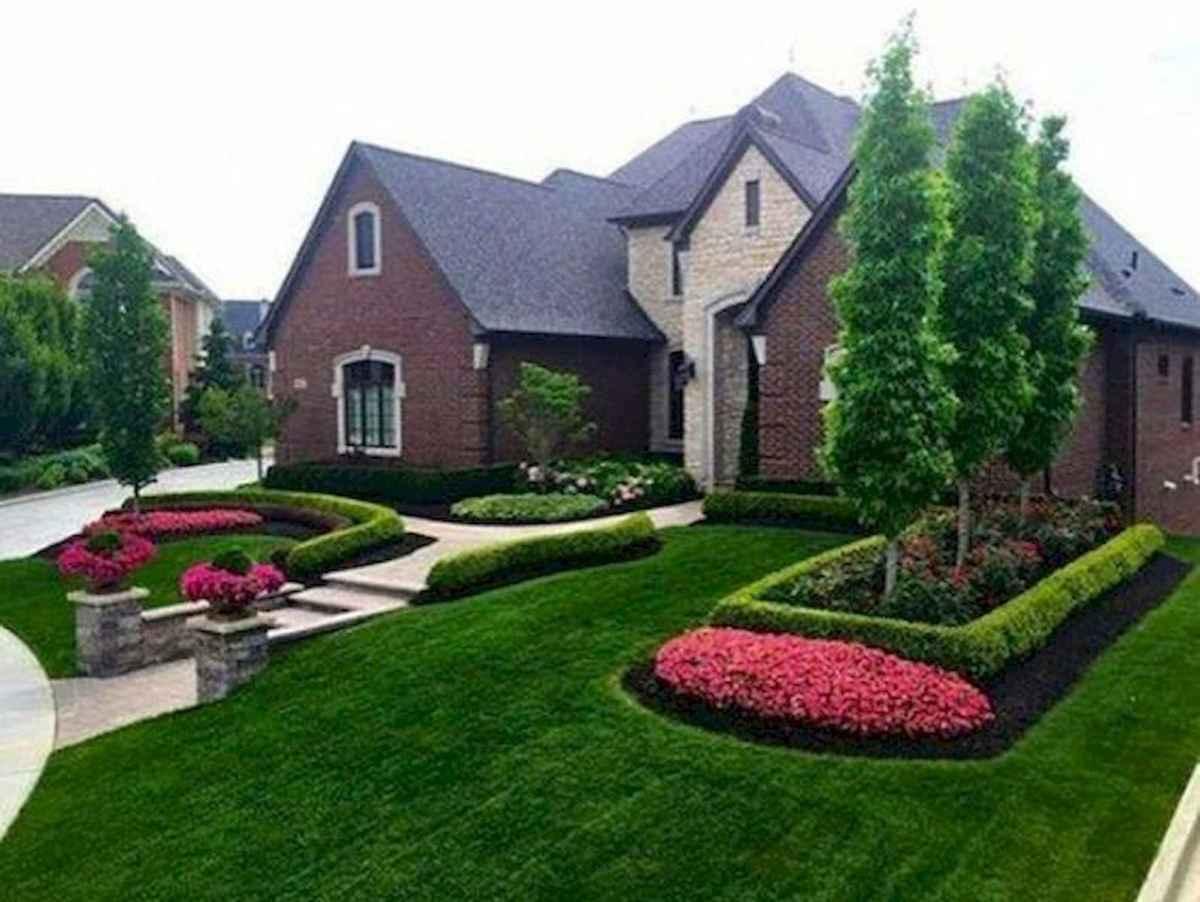 90 Simple and Beautiful Front Yard Landscaping Ideas on A Budget (79)