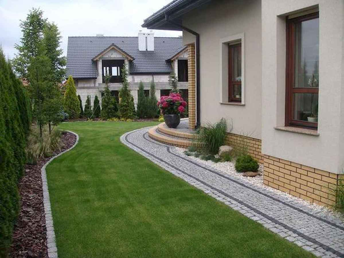 90 Simple and Beautiful Front Yard Landscaping Ideas on A Budget (85)