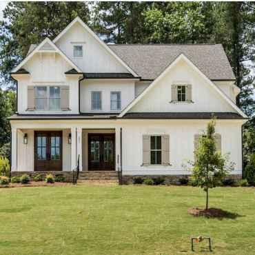33 Best Modern Farmhouse Exterior Design Ideas (14)