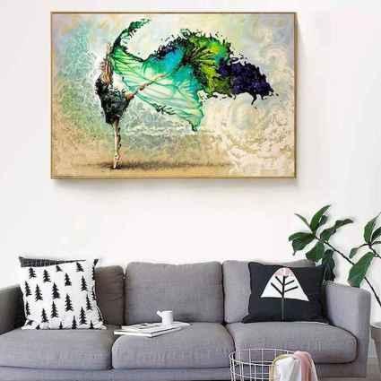30 Best Art Living Room Decor (8)