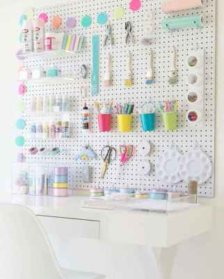 30 Best Art Room And Craft Room Organization Decor (12)
