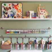 30 Best Art Room And Craft Room Organization Decor (16)