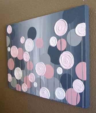 30 Best Easy DIY Wall Art Ideas (25)