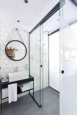 30 Best Farmhouse Bathroom Shower Decor (12)