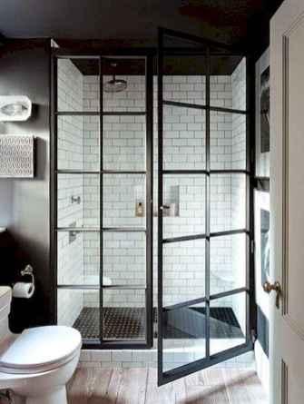 30 Best Farmhouse Bathroom Shower Decor (13)