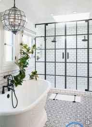 30 Best Farmhouse Bathroom Shower Decor (20)