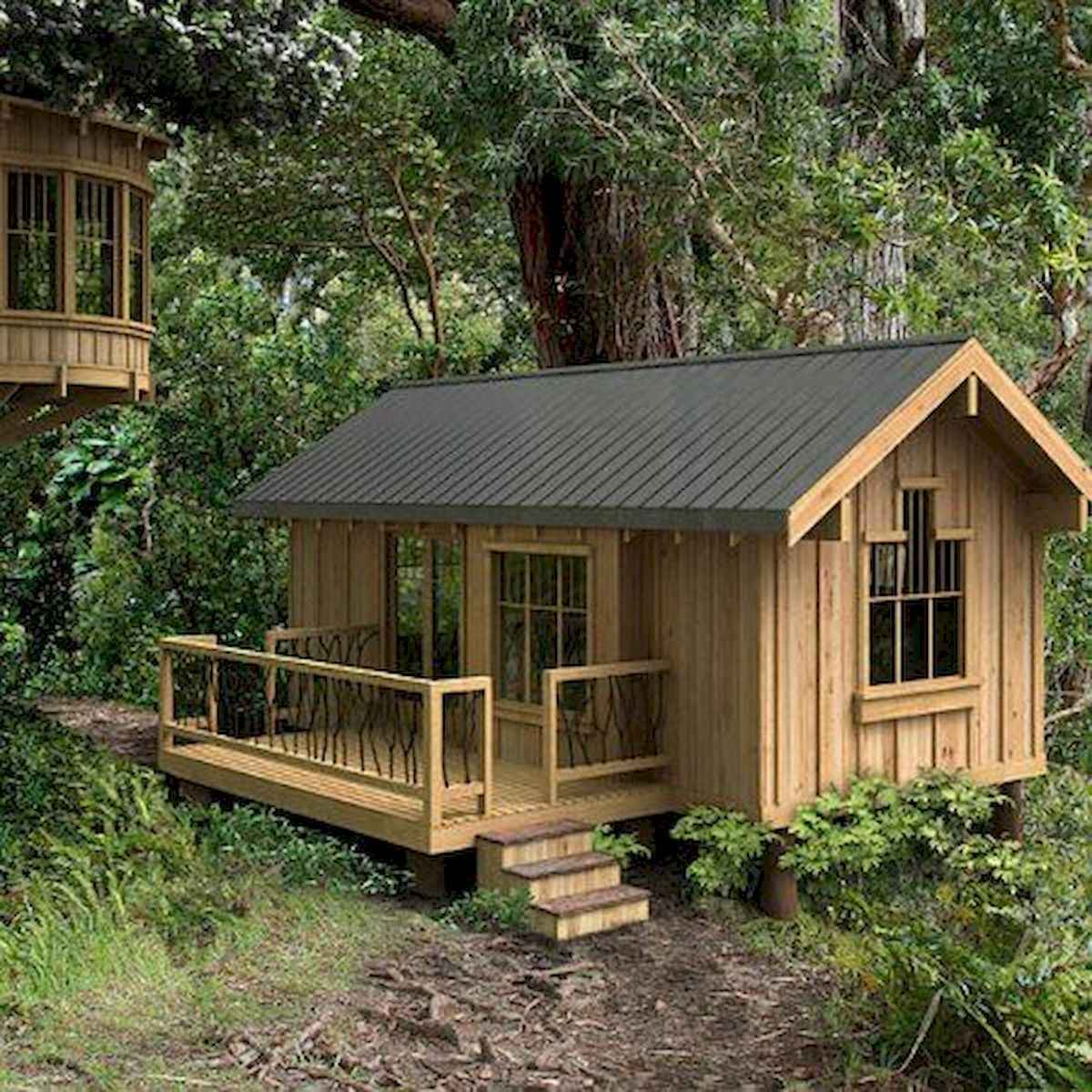 40 Stunning Log Cabin Homes Plans One Story Design Ideas (15)