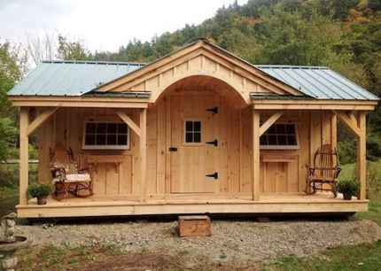 40 Stunning Log Cabin Homes Plans One Story Design Ideas (21)