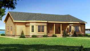40 Stunning Log Cabin Homes Plans One Story Design Ideas (6)