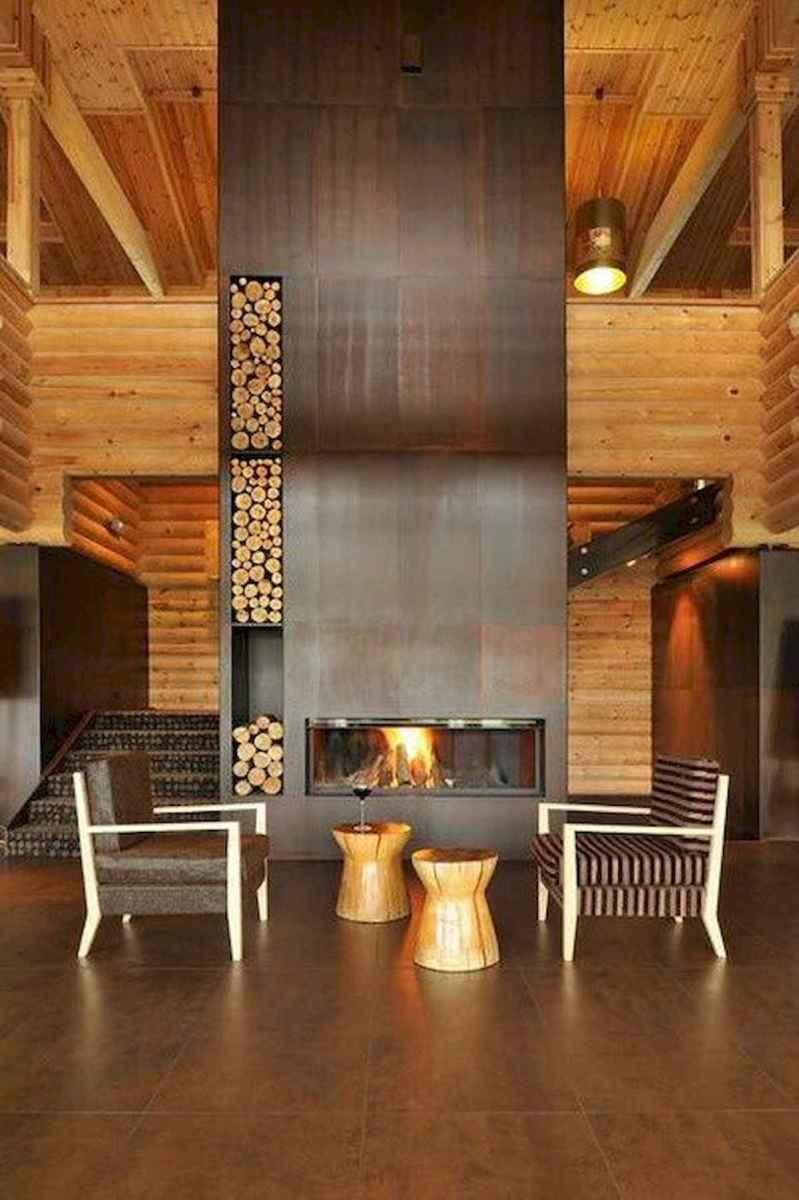 50 Incredible Log Cabin Homes Modern Design Ideas (22)