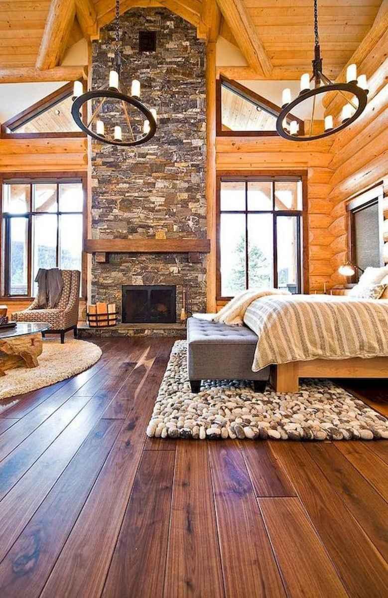 50 Incredible Log Cabin Homes Modern Design Ideas (23)