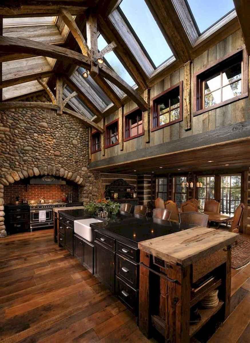 50 Incredible Log Cabin Homes Modern Design Ideas (28)