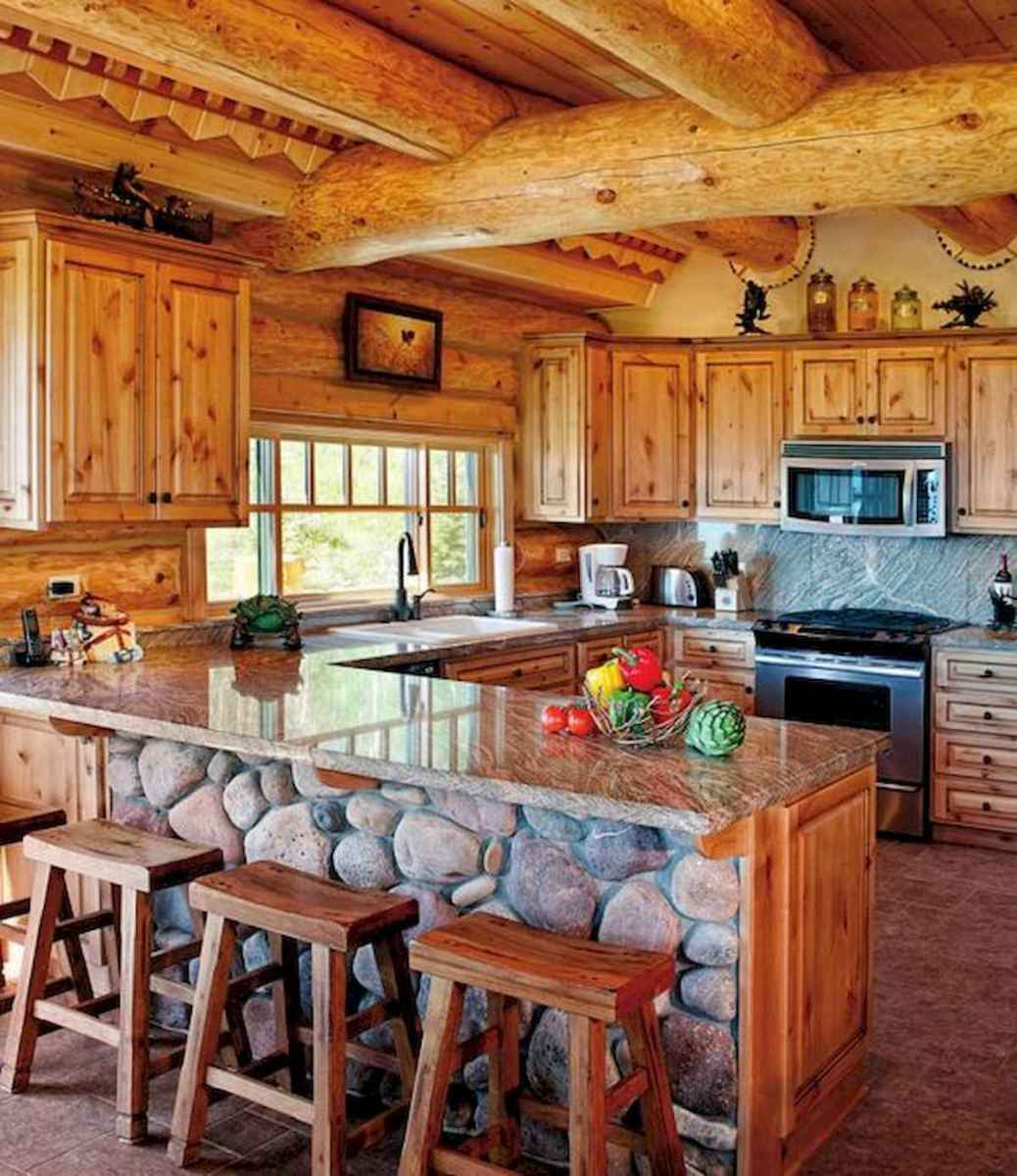 50 Incredible Log Cabin Homes Modern Design Ideas (31)