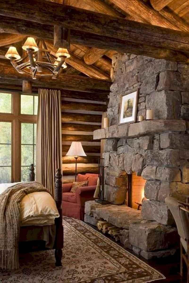 50 Incredible Log Cabin Homes Modern Design Ideas (32)