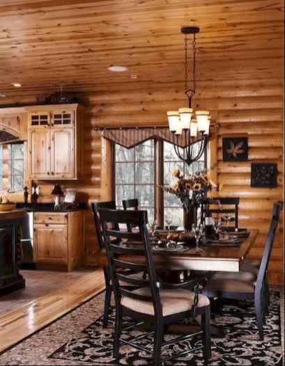 50 Incredible Log Cabin Homes Modern Design Ideas (35)