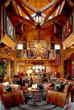 50 Incredible Log Cabin Homes Modern Design Ideas (50)